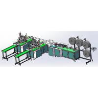 High Speed Surgical Medical Kn95 Face Mask Making Machine With Earloop Welding Manufactures