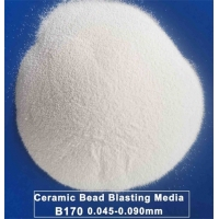 Spherical 700HV Micro Ceramic Blasting Media JZB170 Manufactures