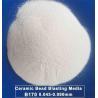 Buy cheap Spherical 700HV Micro Ceramic Blasting Media JZB170 from wholesalers