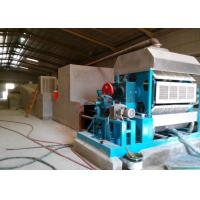 China New Condition Pulp Egg Tray Molding Machine Processing Type Newspapers Material on sale
