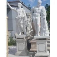 Ancient Rome statues Museum marble sculptures Heracles replica stone statue,stone carving supplier Manufactures