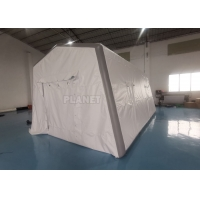 0.6mm PVC Air Sealed Inflatable Hospital Tent For Quick Rescue Manufactures