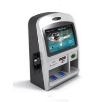 """15"""" - 19"""" Screen Self Service Touch Screen Kiosks Wall Mounted With Card Reader Manufactures"""