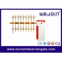 Buy cheap Steel Housing Boom Barrier Gate Automatic Die Casting Aluminum Alloy Motor from wholesalers