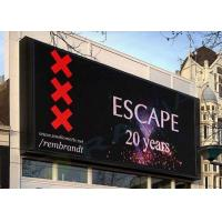 Buy cheap P10 Outdoor Waterproof Advertising LED Display For Wall Mounted from wholesalers