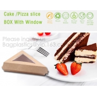Triangle Food SLICE CAKE BOX, Salad, HUMBURGER BOX, BOAT TRAY, LUNCH BOX, HANDLER, CARRIER, BOWL, CUP Manufactures