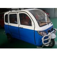 Enclosed Gasoline Tricycle 200 CC For Passenger Automatic Clutch 60 Km/H Max Manufactures