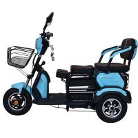 Drum Brake 1200 Watts 12V 32Ah Three Wheel Electric Scooter Manufactures