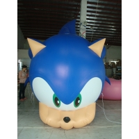 giant PVC Custom Shaped Inflatable Advertising Balloons Digital Printing Manufactures