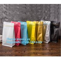 Biodegradable CompostMiddle Seal, K Bottom Seal, Flat Pouch, Luxury Coffee Beans Pouch Packaging Bags With One Way Valve Manufactures