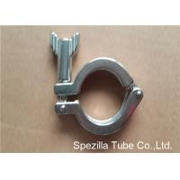 TP304 ASTM A270 Sanitary Valves And Fittings Stainless Steel Single Pin Heavy Duty Clamp Manufactures