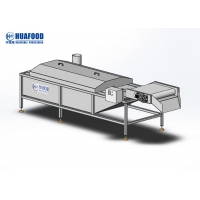 Industrial Electric Heating Vegetable Blanching Machine Corn And Potato Precooking Manufactures