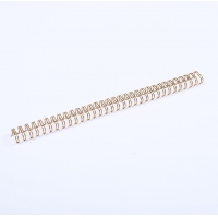 Nanbo 0.25-0.5in Double Loop Wire Binding Electroplated Nylon Coated Manufactures