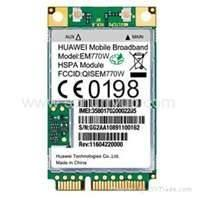 Mini 3G Module, mini pci module Stamps Hole Form With WinCE,  Linux Operating System Manufactures