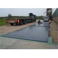 3 X 16m Size Steel Deck Weighbridge Large Capacity Easy Assembly And Installation Manufactures