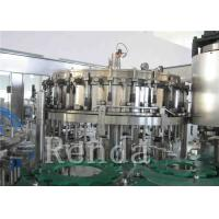 Customized Carbonated Drink Filling Machine 220V Soft Drinks Filling Machine Manufactures