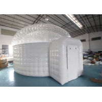 0.55mm Pvc Inflatable Igloo Tent For Outdoor Observe Stars Manufactures