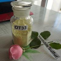Insoluble Sulfur OT33 (similar to Crystex® OT33) Manufactures