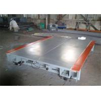 200 Ton 3.4*22m Digital Truck Scales OIML III Precision With Waterproof Junction Box Manufactures