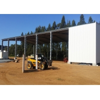 Alkyd Primer Gable Frame Prefabricated Steel Structure Manufactures