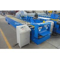High Precision Roofing Sheet Cold Steel Roll Forming Machine For Galvanized Steel Manufactures