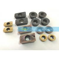PVD Coating Cemented Carbide Inserts CNC For All Types Milling Requirements Manufactures