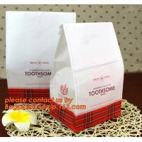 Customize Translucent Window Brown Greaseproof Kraft Paper Bag Special Opp Window Shape, window bags, greaseproof paper Manufactures