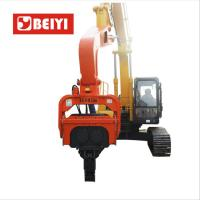 Buy cheap Excavator Mounted Pile Driver / Pile Driving Hammer 2.15t from wholesalers