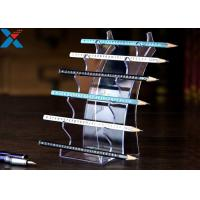 Eyebrow Pencil Clear Acrylic Display Stands Acrylic Pen Holder Display Stand Manufactures