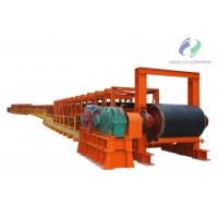 FixedLarge Capacity Rubber BeltConveyor Carbon Steel Frame Material Manufactures