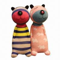 Buy cheap Sock Cotton Plush Toys, Customized Designs are Accepted, Measures 36cm from wholesalers
