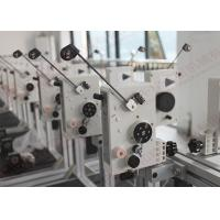 High speed Auto Coil Winding Machine Parts With Polished ceramic eyelets , QH-MTCS Manufactures