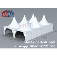 Buy cheap Exhibition Heavy Duty Party Tent / Promotional Outside Wedding Tents from wholesalers