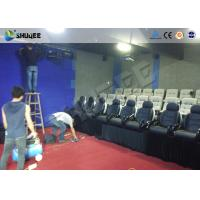 Game 7D Cinema System With Numerous Effects Set Up In Store Front , Walking Streets Manufactures