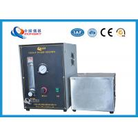Quality Micro Controlled Flame Test Equipment 820*820*1500 MM With Observation Window for sale