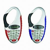Carabiner Calculators, Transparent Shell Available, Customized Logos are Accepted Manufactures