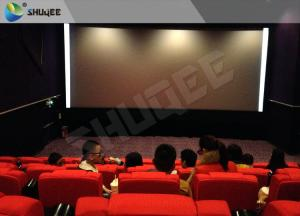 High Class Sound Vibration Cinema With 2K Projector Silver Screen Manufactures