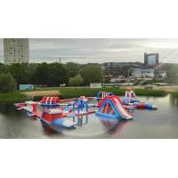 Buy cheap Bouncia 165 Capacity New Floating Inflatable Water Park In Tartu Estonia from wholesalers