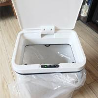 Dustproof Touchless Smart Trash Can Non Slip Design With Long Using Life Manufactures
