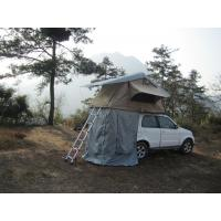 Anti Water Car Roof Mounted Tent With 2M Extendable Aluminum Ladder Manufactures