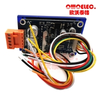 24VDC 500w Brushless Dc Motor Driver Board 12-36v 3 Phase Motor Speed Controller with connector wires and heatsink Manufactures