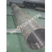 Buy cheap UNS N04400 Nickle Alloy and Carbon Steel Clad Pipe For Chemical Process from wholesalers