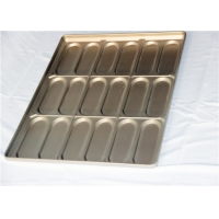 45mm Hot Dog Bun Baking Pan Manufactures