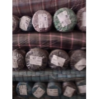 Buy cheap 100% Cotton with golden and silver thread check design shirts' fabric stock for from wholesalers