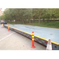 100 Ton Electronic Pitless Type Weighbridge 440mm Installation Height 20kg Index Value Manufactures