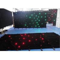 Buy cheap Single Color Star Cloth Warm White Curtain Lights , Led Waterfall Curtain Lights from wholesalers