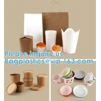Paper Custom Fried Disposable Hamburger Box Cup French Container Fries Kraft Fries Box Cone Shape bag Manufactures