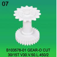 B103578-01 GEAR O-CUT TEETH-30/15 FOR NORITSU qsfV30,V50,V100 minilab Manufactures