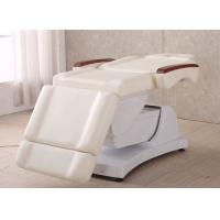 3 Or 4 Motor Electric Demar Chair / Facial Chair With High Foam And Different Color PU Cover Manufactures