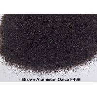 Surface Preparation Brown Aluminum Oxide Grit High Compression Strength Blasting Media Manufactures